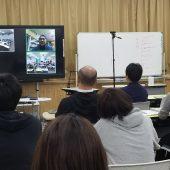 遠隔合同授業の合同研修会を実施しました。